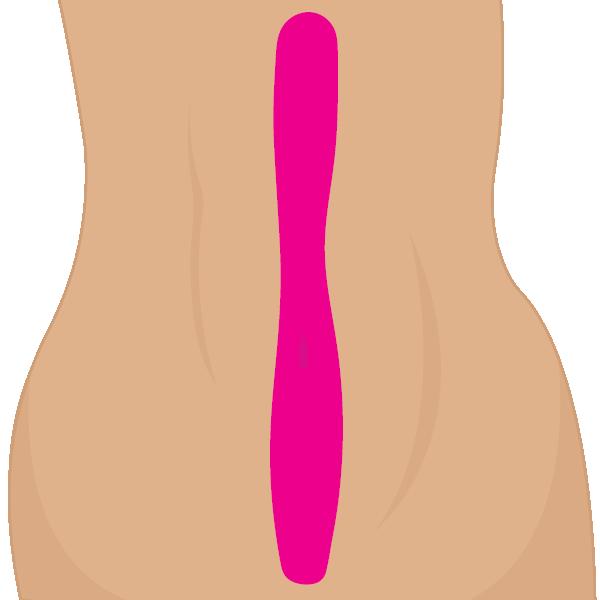 Línea del abdomen