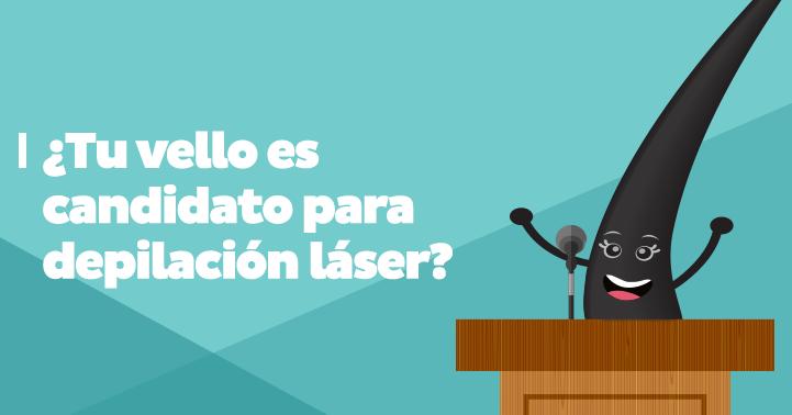 ¿Tu vello es candidato para depilación láser?