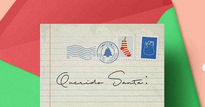 ¿Ya le hiciste tu cartita a Santa?