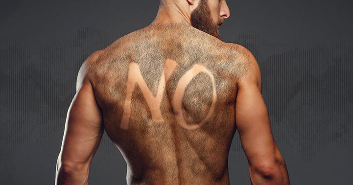 Chicos…no escondan más la espalda o el pecho