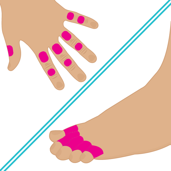 Dedos Manos y Pies
