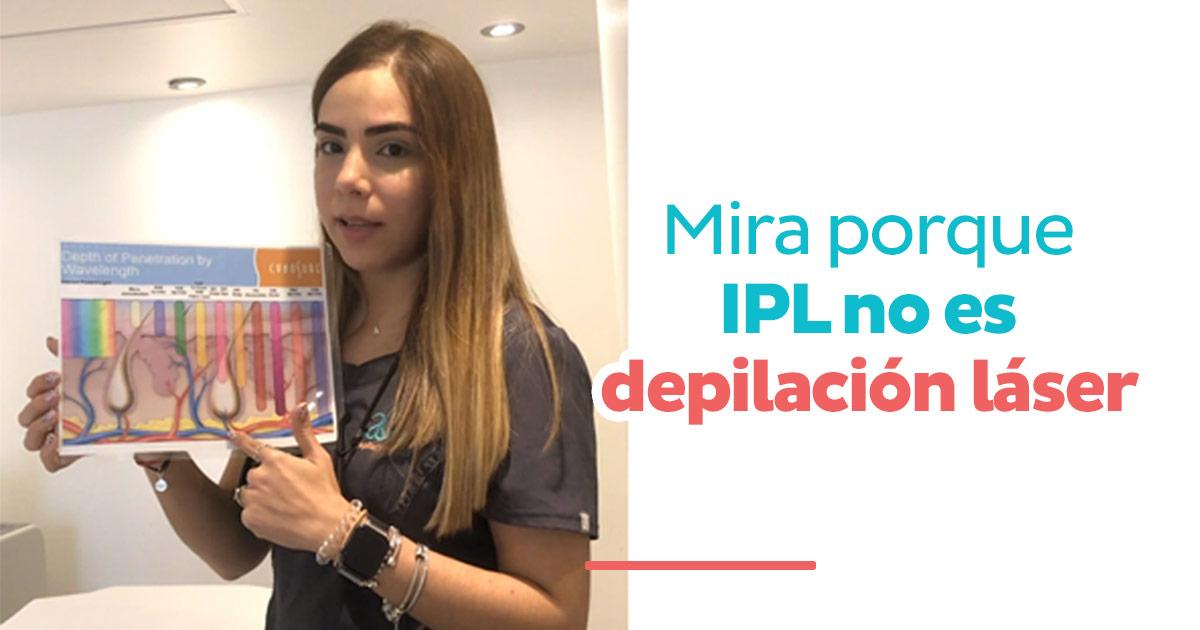 Mira porque IPL no es depilación láser