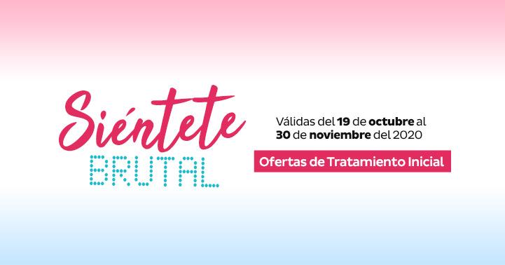 Ofertas de Tratamiento Inicial Válidas del 19 de octubre al 30 de noviembre de 2020